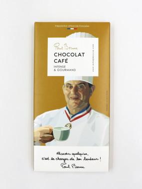 TABLETTE CHOCOLAT CAFÉ BOCUSE