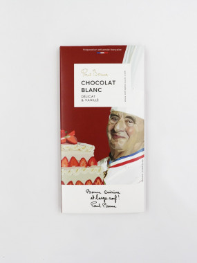 TABLETTE CHOCOLAT BLANC BOCUSE