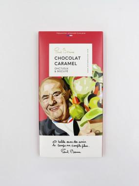 TABLETTE CHOCOLAT CARAMEL BOCUSE