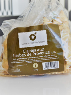 SACHET DE CISELES AU HERBES DE PROVENCES