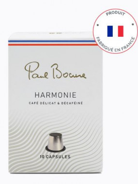 CAFE PAUL BOCUSE - HARMONIE DECAFEINE  - 10 Capsules