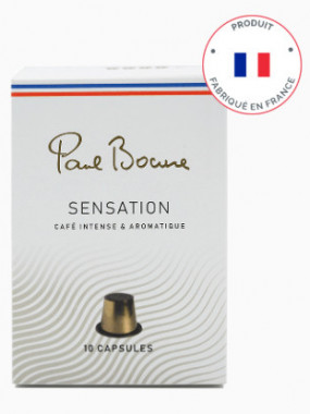 CAFE PAUL BOCUSE - SENSATION - 10 Capsules