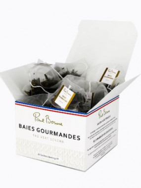THE PAUL BOCUSE - THE VERT SENCHA - BAIES GOURMANDES